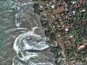 Imágenes de los efectos del Tsunami del Sudeste asiático de diciembre de 2004