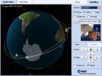 Tracking de orbitas de satélites